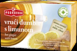 Podravka Vrući đumbir s limunom