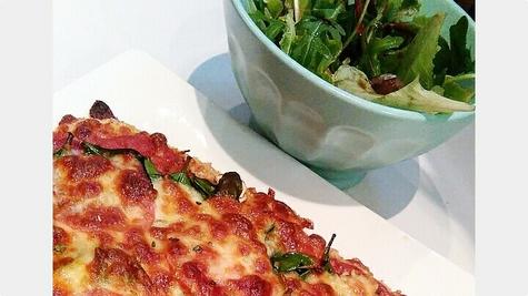 Zdrava pizza bez brašna i kvasca!