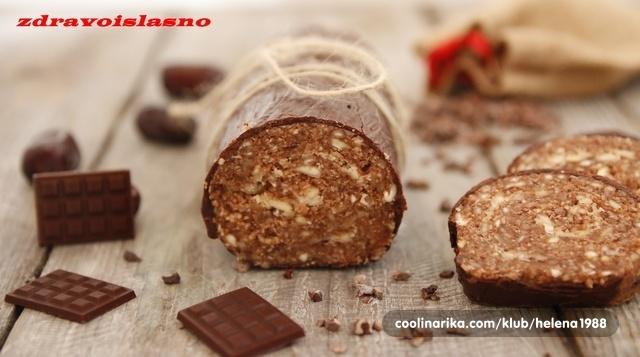 Orašasta čokoladna sirova rolada