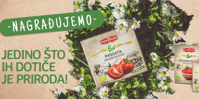Podravka Bio rajčica vas daruje