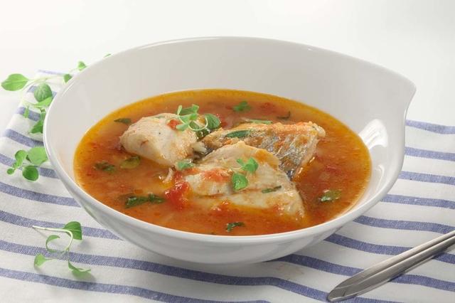 Riblja juha s Malte