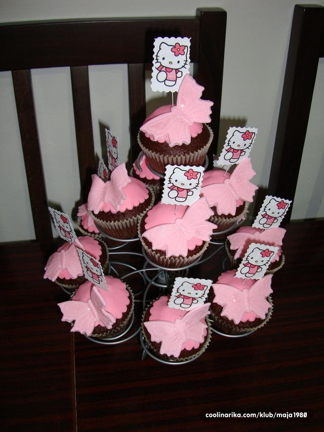 hello kitty sretan rođendan Hello Kitty muffins — Coolinarika hello kitty sretan rođendan