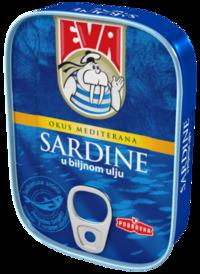 Sardine u biljnom ulju