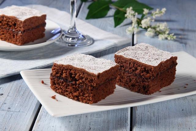 Kakao ploške s pekmezom od šljiva