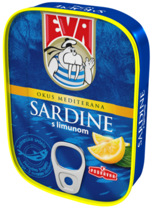 Sardine s limunom