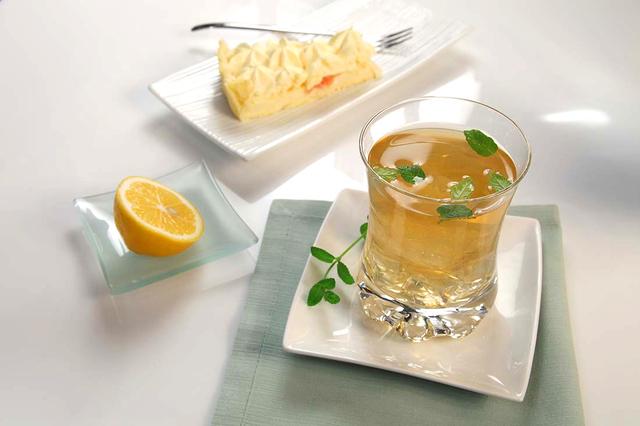 Koktel s čajem limun i limeta