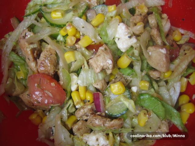 Salata od piletine coolinarika