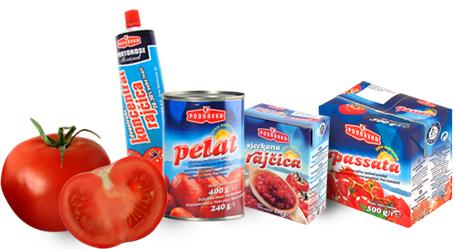 Podravka proizvodi od rajčice
