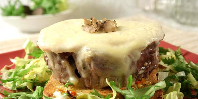Rossini steak