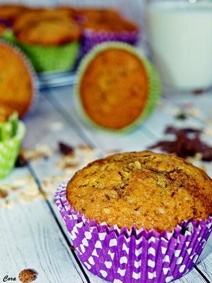 ღ Čoko müsli muffini s javorovim sirupom