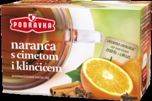 Čaj Naranča s cimetom i klinčićem