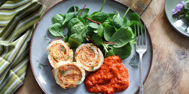 Ukusni omlet kao rolada2