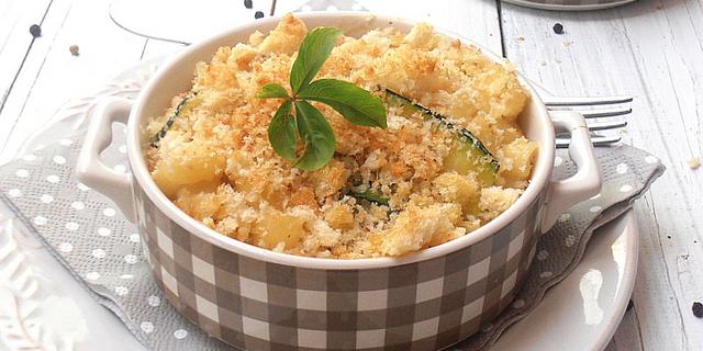 Zapečena tjestenina s tikvicama