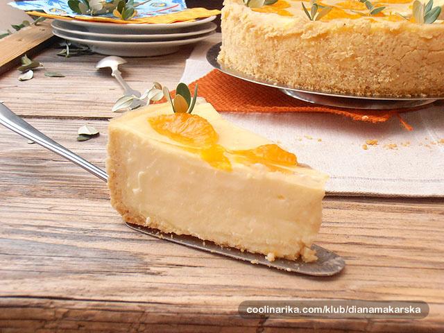 Torta od sira i mandarina