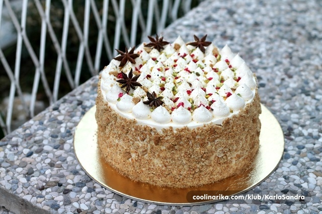 Crumble jabuka torta