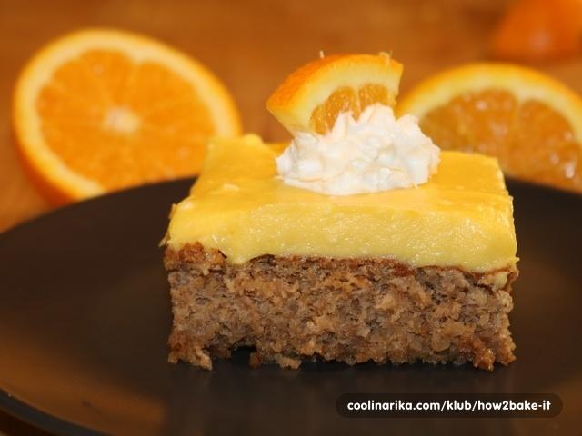 Sočne naranča kocke