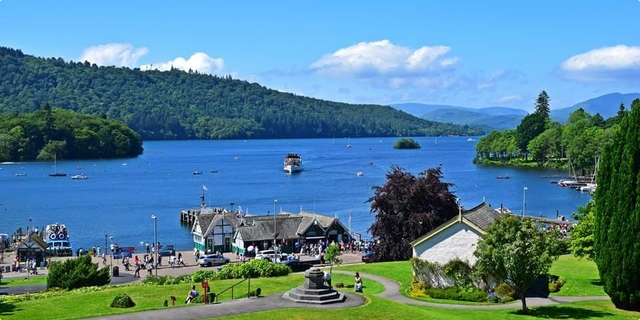 Windermere  Lake District UK