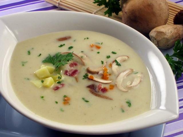 Krem juha od kestena i vrganja