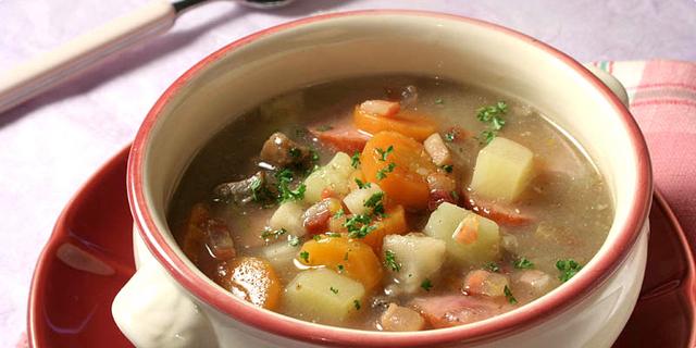 Žur – juha s kiselim kvasom