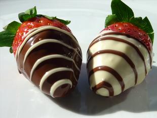 Jagode u čokoladi