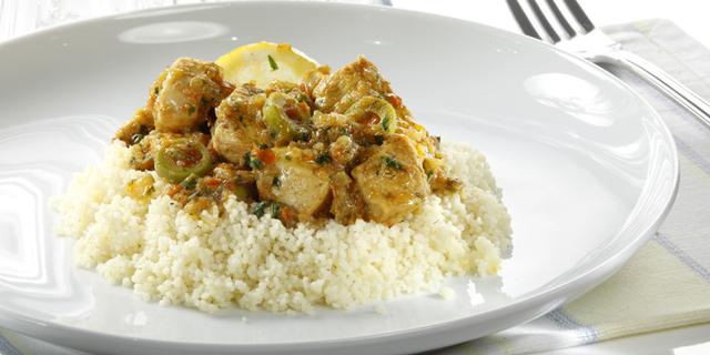 CHICKEN TAGINE (Tajine) - Marokanska piletina s limunom i maslinama