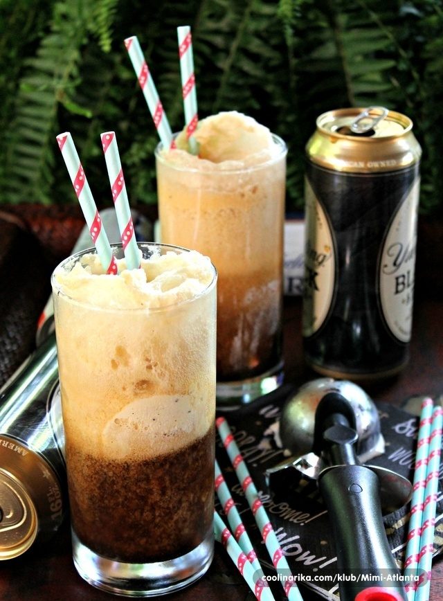 Beer and Ice cream drink...
