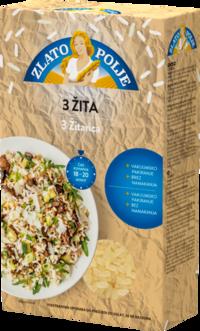 Riža 3 žitarice vakuum