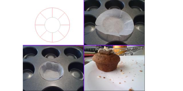 Kalupi za muffine od papira za pečenje