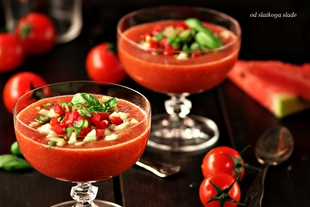 Gazpacho s lubenicom - odslatkoga