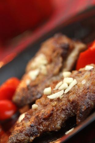 Pecena svinjska jetrica