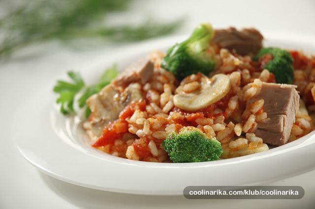 Lagana riža s tunom