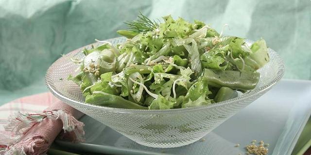 Salata sa svježim pšeničnim klicama