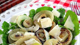 Salata od grilovanog luka