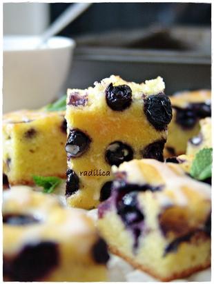Žuti kolač sa višnjama - SnezanaBG