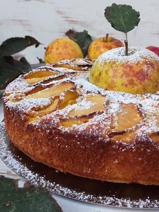 Torta sa jabukama i mascarponeom by Zoilo