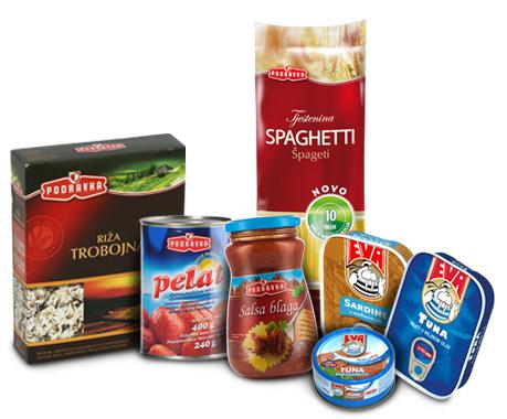 Podravka proizvodi s okusom mediterana