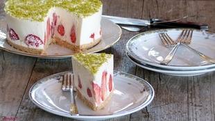 Torta s jagodama koja se ne peče!