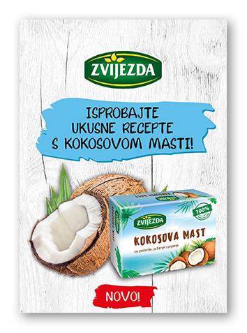 Zvijezda kokosova mast recepti