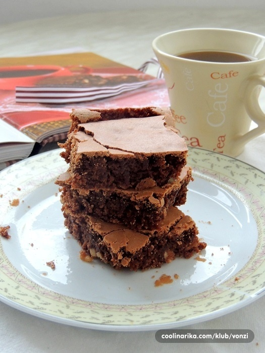 Brownie sa kavom