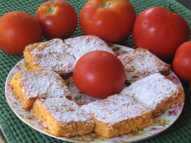 Kolač od rajčica - petalo