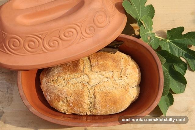 Kruh s rimskim kvascem od mošta