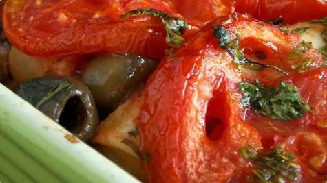 Pečena riba ...