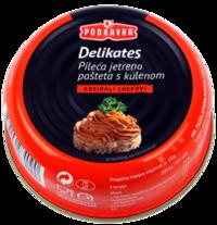 Delikates pileća jetrena pašteta s kulenom