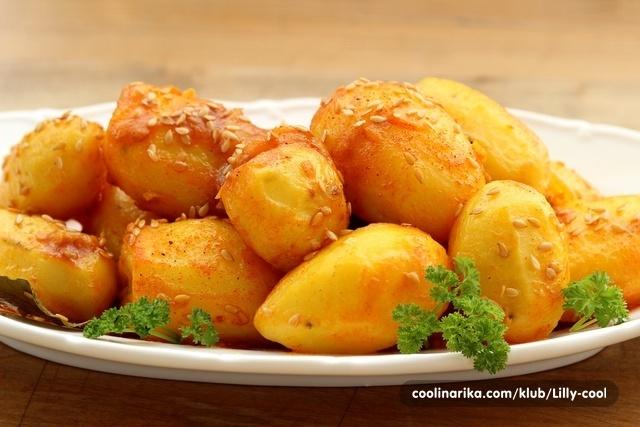 Pečeni krumpir na paru :)