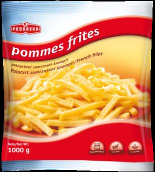 Zamrznuti pommes frites