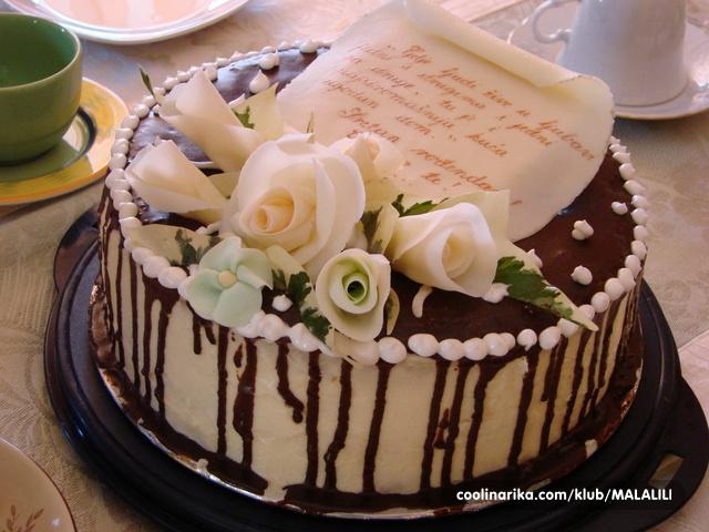 sretan rođendan torta Dinkina torta od oraha — Coolinarika sretan rođendan torta