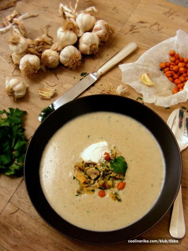 Domaća juha od gljiva