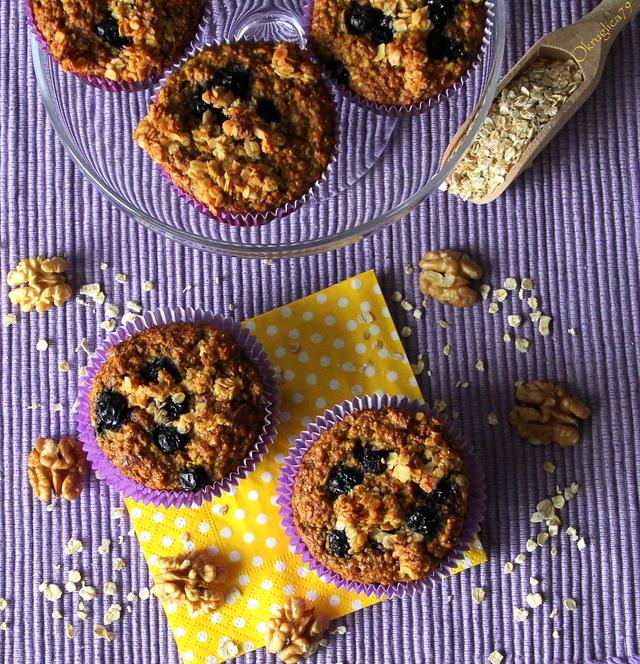 Muffini s aronijom i kurkumom