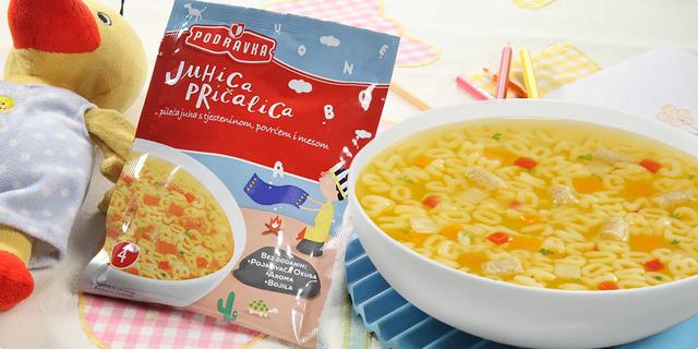 Djeca i mame se slažu - Podravka dječje juhe i tjestenina