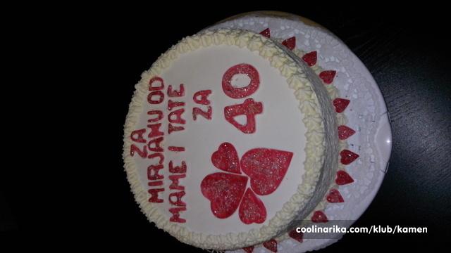 slike za 40 rođendan Torta za 40 rodjendan — Coolinarika slike za 40 rođendan